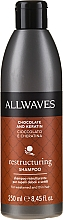 Kup Restrukturyzujący szampon do włosów suchych i zniszczonych Czekolada i keratyna - Allwaves Chocolate And Keratin Restructuring Shampoo