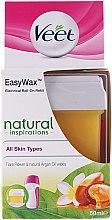 Kup Wkład do elektrycznego systemu depilacji ciepłym woskiem - Veet Easy Wax Natural Inspirations