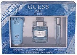Kup Guess 1981 Indigo For Women - Zestaw (edt 100 ml + b/lot 200 ml + edt 15 ml)