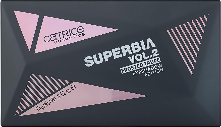 Paletka cieni do powiek - Catrice Superbia Vol. 2 Frosted Taupe Eyeshadow Edition  — фото N2