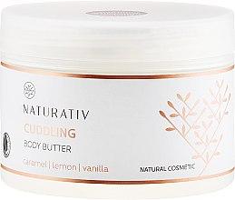 Kup Otulające masło do ciała Karmel, cytryna i wanilia - Naturativ Cuddling Body Butter
