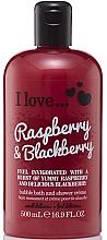 Kup Krem do kąpieli i pod prysznic Malina i jeżyna - I Love... Raspberry And Blackberry Bubble Bath And Shower Crème