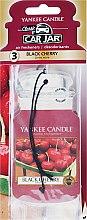 Kup Zapach do samochodu - Yankee Candle Car Jar Black Cherry
