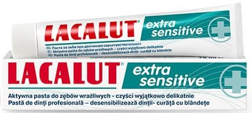 """Pasta do zębów """"Extra Sensitive"""" - Lacalut — фото N1"""