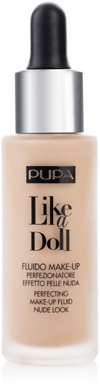 Udoskonalający podkład - Pupa Like A Doll Perfecting Make-Up Fluid Nude Look
