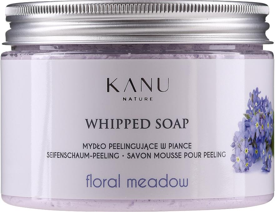 Mydło peelingujące w piance Kwiatowa łąka - Kanu Nature Floral Meadow Peeling Soap — фото N1
