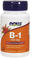 Kup Witamina B1 na zdrowe nerwy - Now Foods Vitamin B1 Tiamin