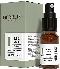 """Kup Spray do ust """"Oliwkowa świeżość"""" 2,5% - Herbliz CBD Olive Fresh Oil Mouth Spray 2,5%"""