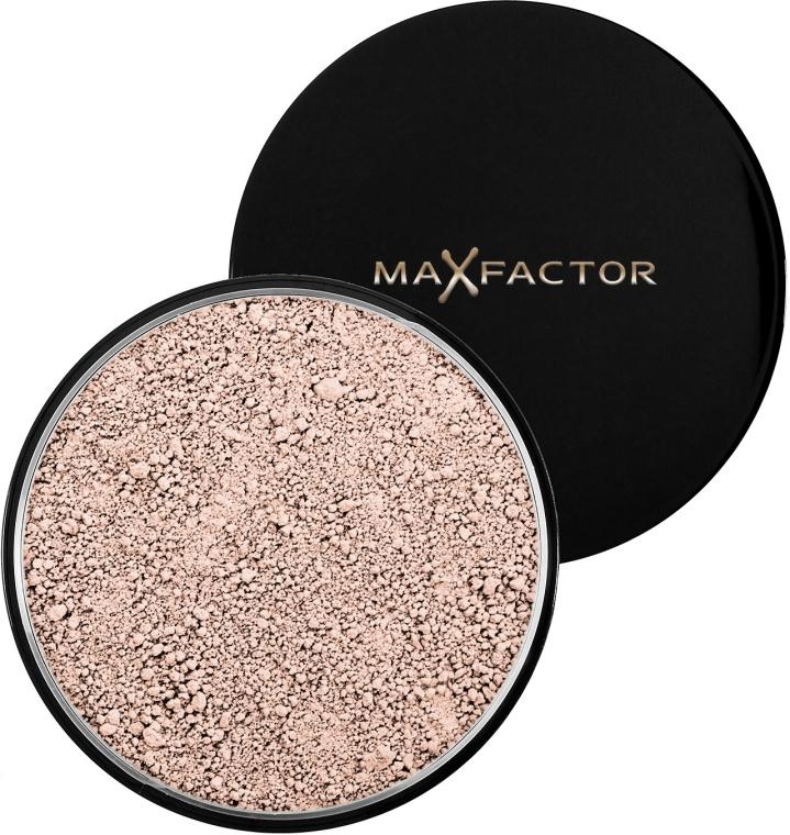 Transparentny sypki puder do twarzy - Max Factor Loose Powder