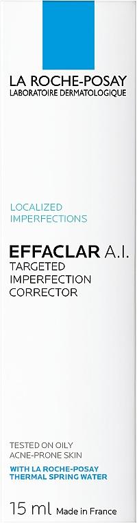 Korektor w kremie do walki z niedoskonałościami - La Roche-Posay Effaclar A.I. Targeted Imperfection Corrector — фото N4