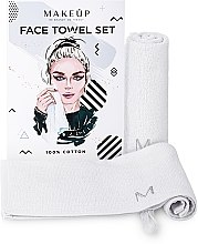 Kup Podróżny zestaw białych ręczników do twarzy MakeTravel - Makeup