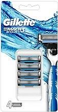 Kup Wymienne wkłady do maszynki do golenia, 4 szt. - Gillette Mach3 Start Razor Blades