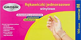 Kup Rękawiczki jednorazowe winylowe - Grosik