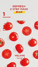 Kup PRZECENA! Dwufazowa maska z pomidorem - Village 11 Factory Refresh 2-Step Mask Red *