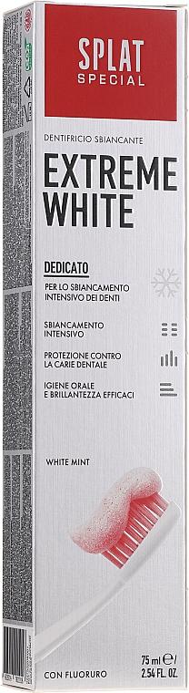 Wybielająca pasta do zębów - SPLAT Special Extreme White Toothpaste — фото N1