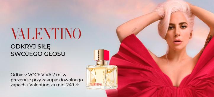 Odbierz VOCE VIVA 7 ml w prezencie, przy zakupie dowolnego zapachu Valentino za min. 249 zł.