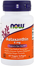 Kup Astaksantyna na zdrowe oczy i układ nerwowy - Now Foods Astaxanthin