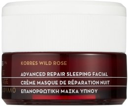 Kup Kremowa maska regeneracyjna na noc - Korres Wild Rose Advanced Repair Sleeping Facial