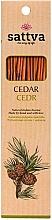 Kup Naturalne indyjskie kadzidła Cedr - Sattva Cedr