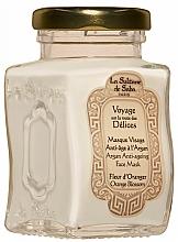 Kup Przeciwstarzeniowa maseczka do twarzy - La Sultane De Saba Bio Argan & Orange Blossom Argan Anti-Ageing Face Mask Orange Blossom