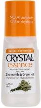 Kup Dezodorant w kulce o zapachu rumianku i zielonej herbaty - Crystal Essence Deodorant Roll On