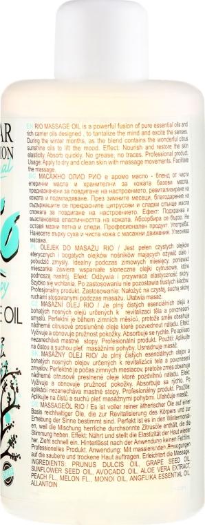 Olejek do masażu Rio - Sezmar Collection Professional Rio Aromatherapy Massage Oil — фото N2