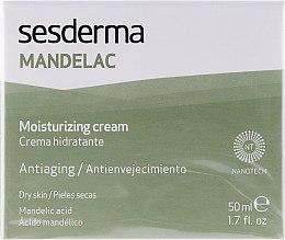 Nawilżający krem z kwasem migdałowym - SesDerma Laboratories Mandelac Moisturizing Cream — фото N1