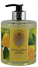 Kup Mydło w płynie Cytrusy z ogrodów Boboli - La Florentina Boboli Citrus Liquid Hand Soap