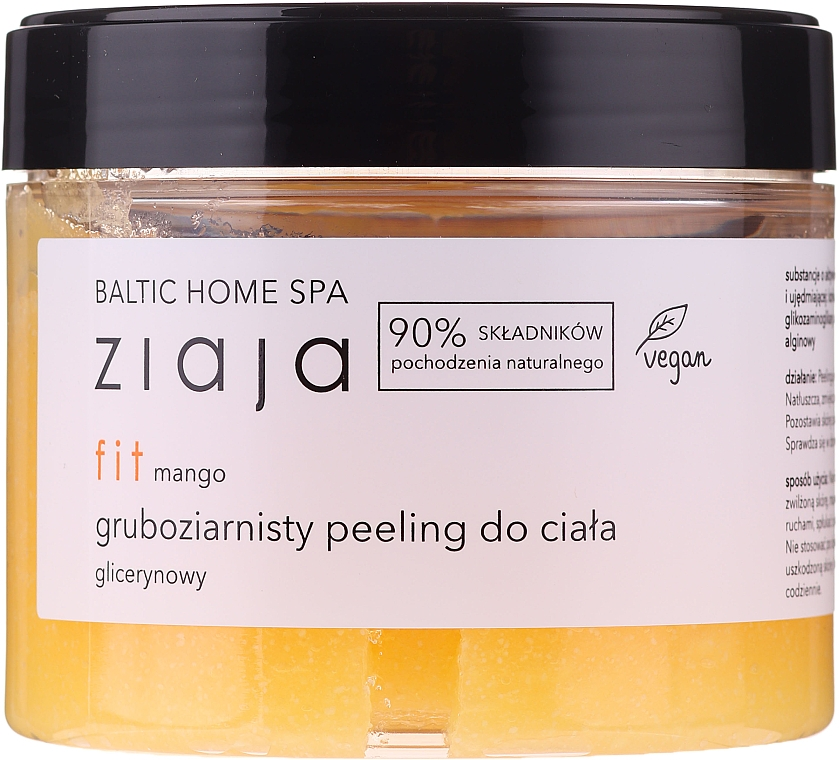Peeling do ciała Mango - Ziaja Baltic Home SPA Body Peeling