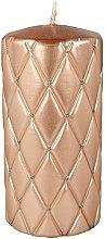 Kup Świeca dekoracyjna, 7 x 14 cm, różowozłota - Artman Florencja