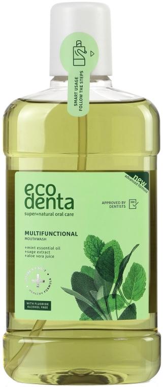 Płyn do płukania jamy ustnej - Ecodenta Multifunctional Mouthwash