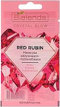 Kup Maseczka odżywiająco- rozświetlająca Rubin - Bielenda Crystal Glow Red Rubin