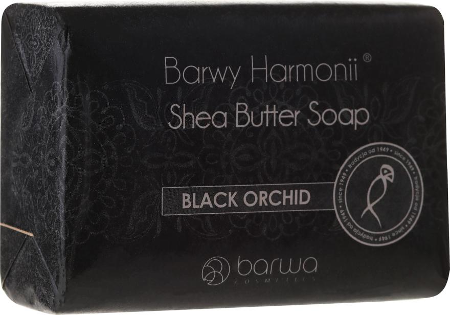 Mydło z czarną orchideą - Barwa Harmony Soap Black Orchid