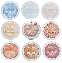 Rozświetlacz do twarzy - MUA Makeup Academy Shimmer Highlighter Powder — фото N3