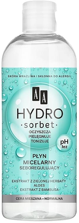 Seboregulujący płyn micelarny - AA Hydro Sorbet