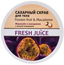Kup Scrub do ciała Marakuja i orzech makadamia - Fresh Juice Passion Fruit & Macadamia
