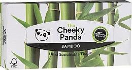 Kup Suche chusteczki bambusowe do twarzy, 80 szt. - Cheeky Panda Bamboo Facial Tissue Cube