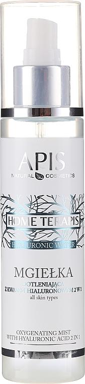 Mgiełka dotleniająca z kwasem hialuronowym 2 w 1 - APIS Professional Home TerApis Hyaluronic Water