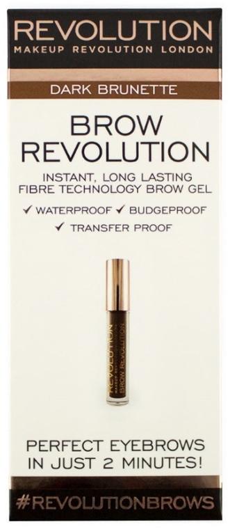 Wodoodporny żel do brwi - Makeup Revolution Brow Revolution Brow Gel