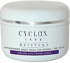 Kup Nawilżający krem do twarzy na noc - Cyclax Moistura Replenishing Night Cream Normal / Dry Skin