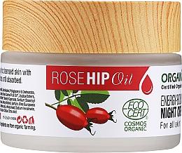 Kup Odżywczy krem do twarzy na noc z olejkiem z dzikiej róży - Organix Cosmetix Rose Hip Oil Energy-boosting Night Cream