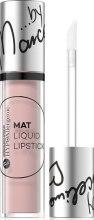 Kup Hipoalergiczna matowa pomadka w płynie - Bell HYPOAllergenic Mat Lip Liquid By Marcelina