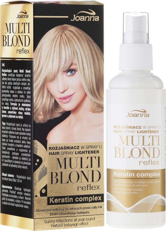 Rozjaśniacz w sprayu do włosów - Joanna Multi Blond Reflex
