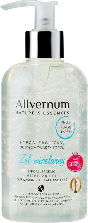 Hipoalergiczny żel micelarny do mycia twarzy i oczu - Allvernum Nature's Essences