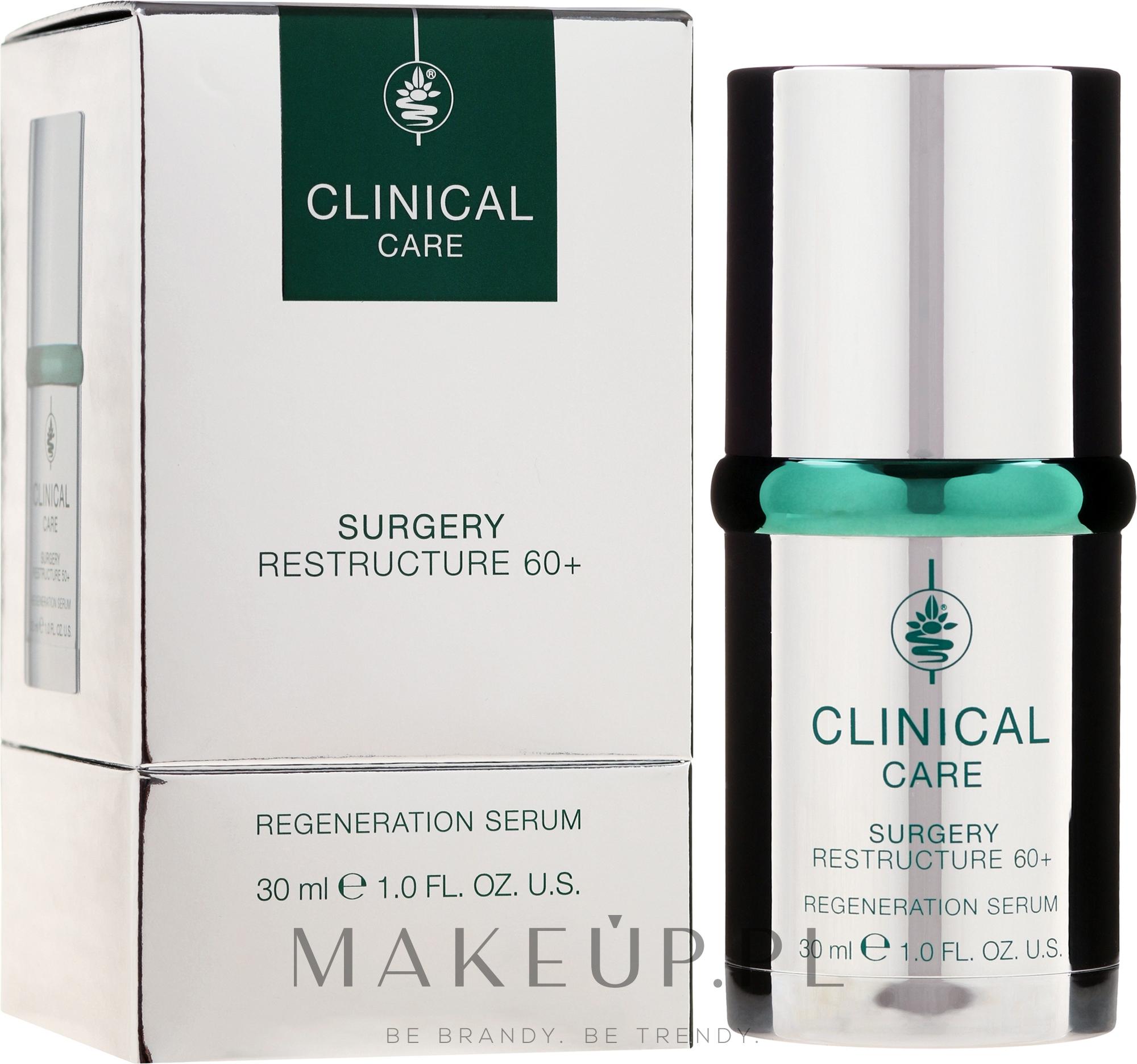 Regenerujące serum do twarzy 60+ - Klapp Clinical Care Surgery Regeneration — фото 30 ml