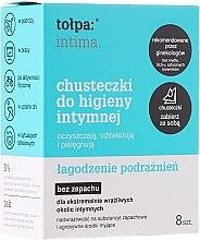 Kup Chusteczki do higieny intymnej, 8 szt. - Tołpa Intima