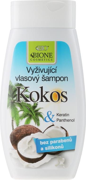 Odżywczy szampon do włosów z kokosem - Bione Cosmetics Coconut Nourishing Shampoo