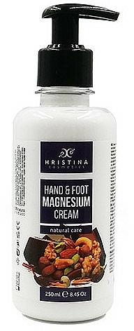 Krem do stóp i rąk - Hristina Cosmetics Hand & Foot Cream With Magnesium — фото N1
