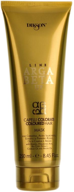 Regenerująca maska do włosów farbowanych - Dikson ArgaBeta Up Coloured Hair Mask