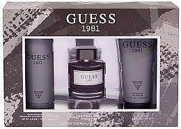 Kup Guess 1981 For Men - Zestaw (edt 100 ml + sh/gel 200 ml + deo/spray 226 ml)